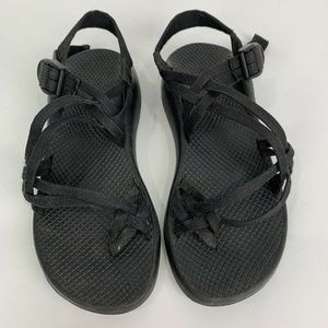Chaco ZX/2 Classic Black Strappy Sandals